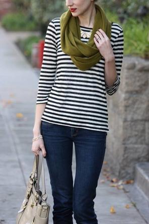 black+ white stripes / olive / red / denim