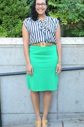 Green, Leopard & Stripes